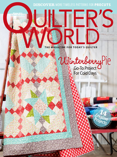 Quilter's World Quilting Patterns for Christmas and Winter