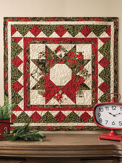Quilted Wall Hanging Patterns new quilt patterns - season's greetings wall hanging pattern
