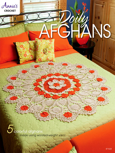 Doily Afghans Crochet Pattern Book