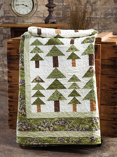 EXCLUSIVELY ANNIE'S QUILT DESIGNS: Alpine Woods Quilt Pattern