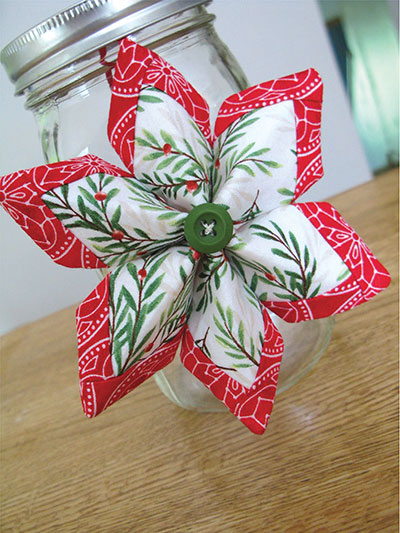 Holiday Stars Ornament Sewing Pattern