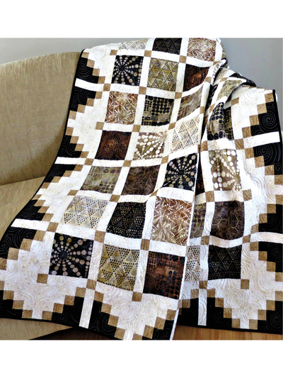 Simply Cool Easy to Make Quilt Pattern for Begginers