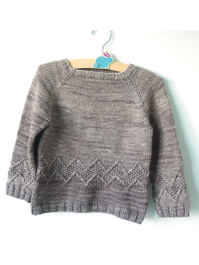 Chuck sweater knit pattern