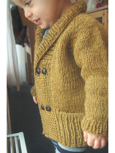 Storytime Scholar Cardigan Knit Pattern