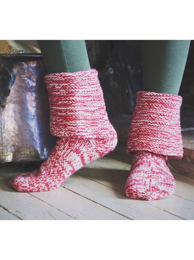 Slipper Knitting Patterns Page 1