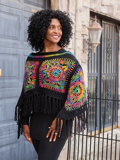 Crochet Shawl Wrap Patterns Annies Signature Designs Peace Out