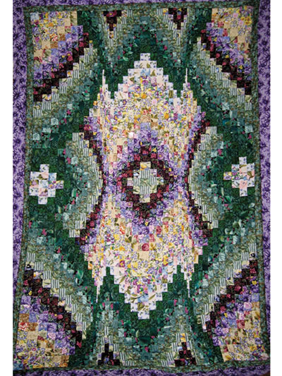 Spiral Burst Bargello Quilt Pattern : bargello quilt kits - Adamdwight.com