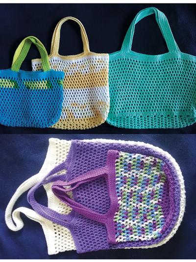 Market Bags Crochet Pattern