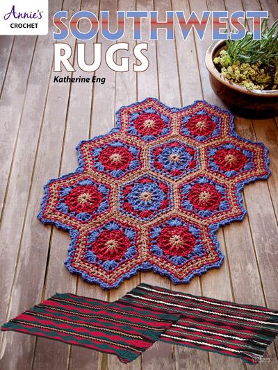 Crochet Rug Patterns Southwest Rugs Crochet Pattern