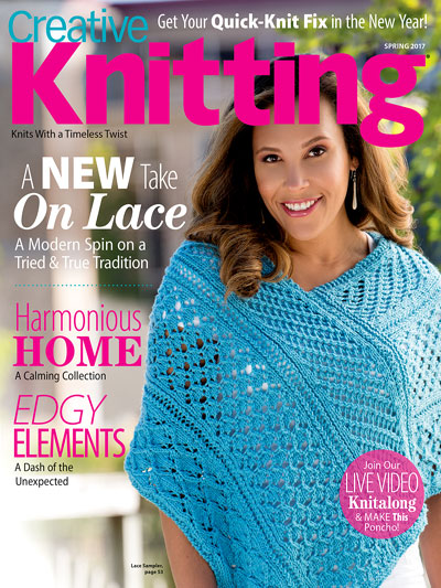 A New Look for Spring Creative Knitting Patterns for Spring