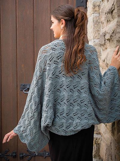 Knitting Patterns Supplies Tacoma Shrug Knit Pattern