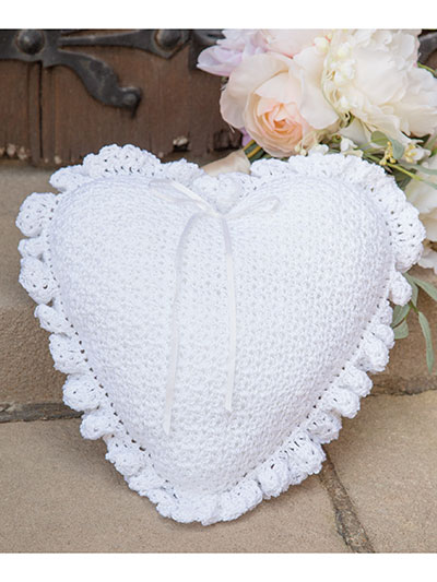 Crochet a Sweetheart Pillow Pattern