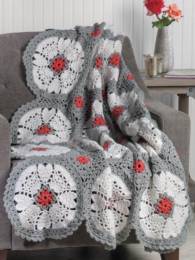 Crochet Patterns Crochet Magazine Heart Keepsake Throw