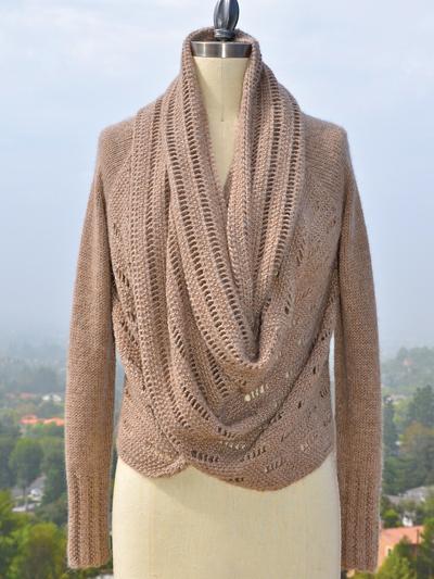 Knitting Patterns Supplies Setsuko Cardigan Knit Pattern