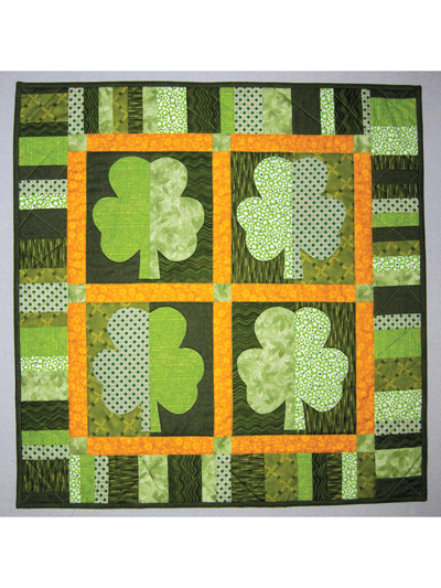Shamrock Quilting Pattern