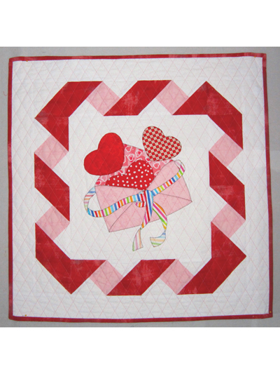 Applique Wall Quilt Patterns Be Mine Valentine Quilt Pattern
