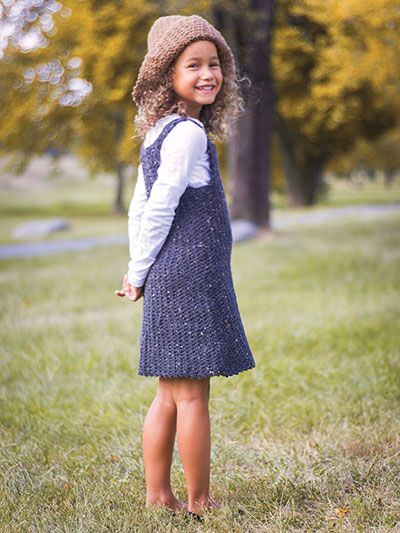 Classic Jumper With Oversized Hat Crochet Pattern
