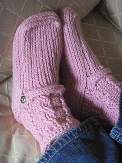 Crochet Slipper Patterns Page 1