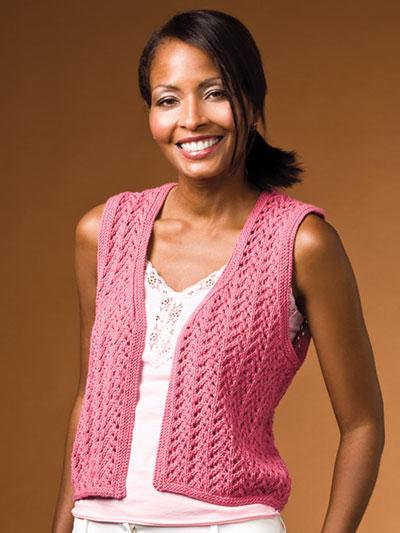 Vest Knitting Patterns Tampa Vest Knit Pattern