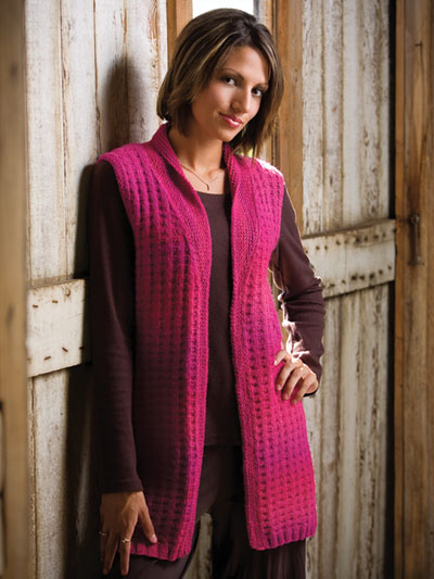 Vest Knitting Patterns Dynamic Vest Knit Pattern