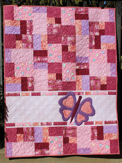 Pieced Baby Kids Quilt Patterns Double Jumble Butterfly Quilt Stunning Butterfly Quilt Pattern
