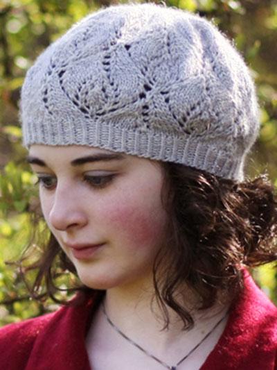 New Knitting Patterns Rosewater Beret Knit Pattern