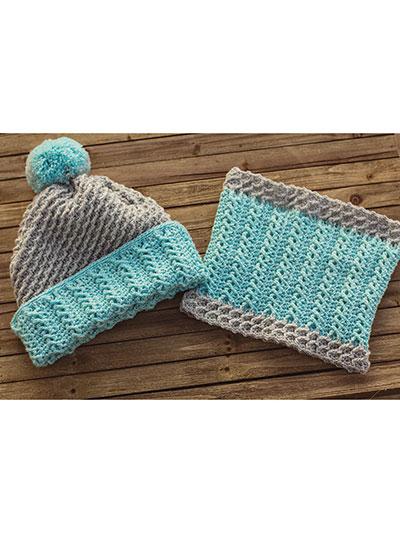 Crochet Patterns Wonderland Cable Hat Cowl Crochet Pattern