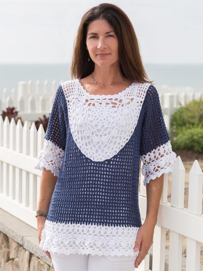 Crochet Patterns Ladies Tops