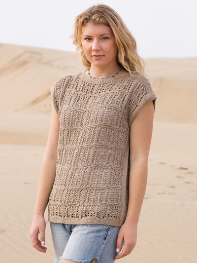 19dfe299682968 Top and Pullover Knitting Patterns - Vivacious Hi-Lo Pullover Knit ...