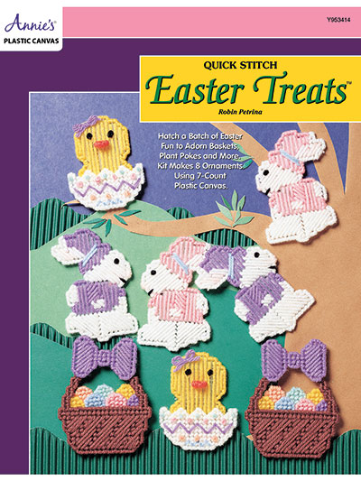 Quick Stitch Easter Treats Plastic Canvas Pattern