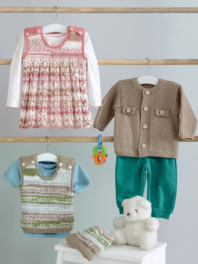 Jacket, Dress, Tank & Hat Knit Pattern