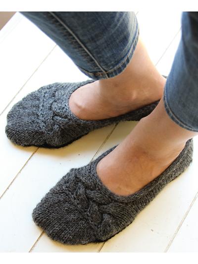 Cloud Nine Ballet Slippers Knit Pattern