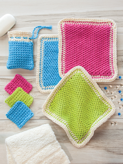 ANNIE'S SIGNATURE DESIGNS: Tunisian Scrubbies Crochet Pattern