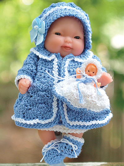 Crochet Doll Clothes Pattern / Amigurumi Clothes Pattern / ENG | Etsy | 533x400