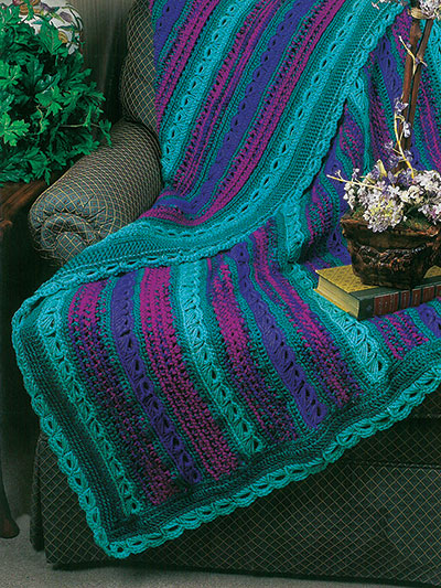 Crochet Afghan Patterns Broomstick On The Double Crochet Pattern
