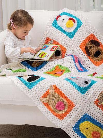 Crochet Patterns Crochet World Magazine Down On The Farm