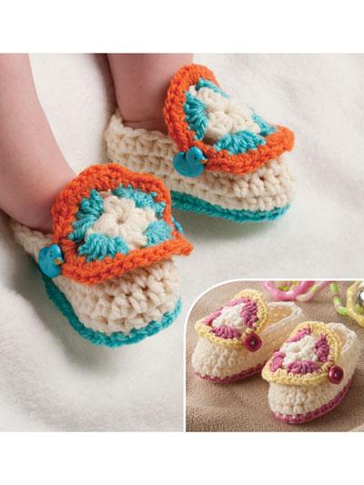Crochet Baby Booties Patterns - Crochet Baby Socks Patterns - Page 1
