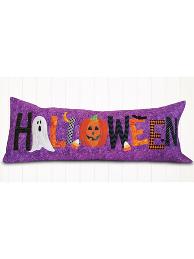 A Year in Words Pillow Pattern , Halloween
