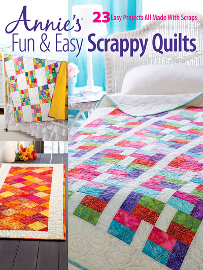 Fun & Easy<br /> Scrappy Quilts