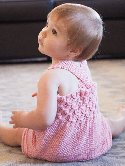 Knit Patterns Print To Order Babies Children Emelia Dress