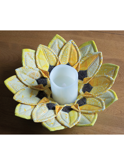 Sunflower Fold N Stitch Sewing Pattern