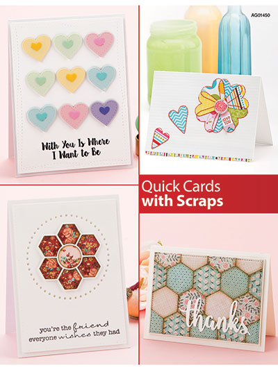 New In Card Paper Crafts Quick Cards With Scraps