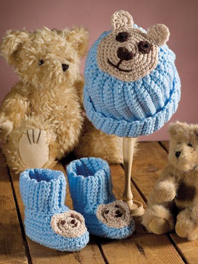 aacda9dc975 Crochet - Patterns - Out-of-Print Patterns - Teddy Bear Set Crochet Pattern