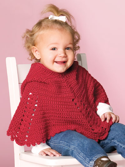 Crochet Baby Kids Downloads Gracies Poncho Crochet Pattern
