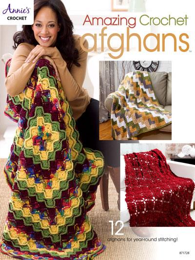 Amazing Crochet Afghans<br /> Crochet Pattern Book