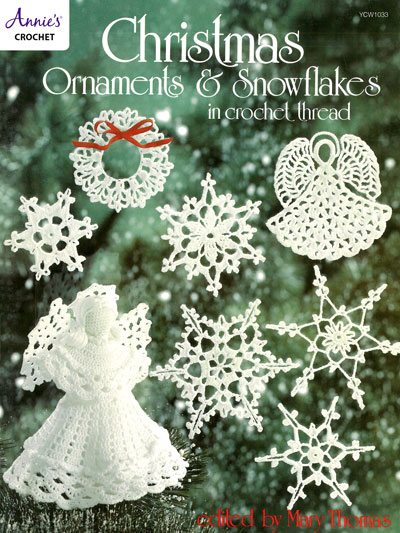 Crochet Christmas Ornaments and Snowflakes