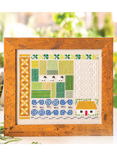 Ireland Sampler Cross Stitch pattern