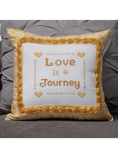 Love is a Journey Cross Stitch Pattern