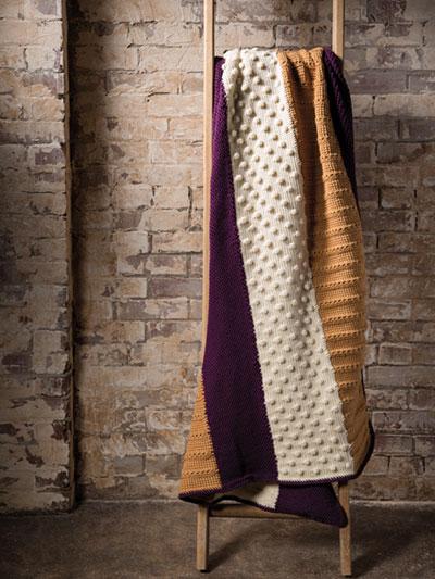 Crochet Patterns Print To Order Afghans Rustic Charm Blanket