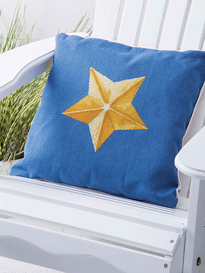 Summer Stars Cross Stitch Pattern
